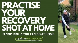 Practise Your Recovery Shot At Home