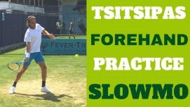 Tsitsipas Forehand SlowMo