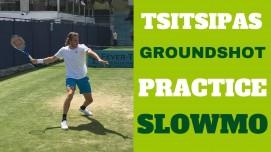 Tsitsipas Ground shot Practice